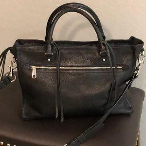 Rebecca Minkoff Black Leather Satchel